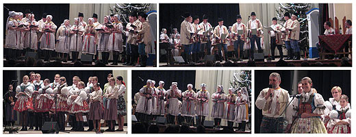 PŘEDVÁNOČNÍ ZPÍVÁNÍ NA HORŇÁCKU … 15.12.2007 … foto: V. Orlovský