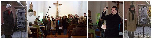 ... vánoční koncert pro slečnu BENOIT v Bystřici ... 29.12.2007 ... foto: Šemora ... zpracování: Vlasti
