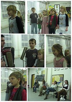 ... zkúška Malučkéj nivničky ... 4.1.2008 ...