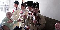 ... Hrubá Vrbka - fašank live ... 22.2.2009 ... design: V. Ondra ...