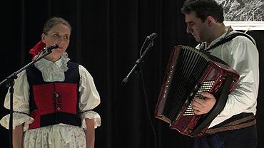 Zdenka a Vlastimil Ondrovi ... 28.2.2009 ... foto: z DVD