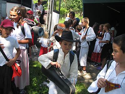 vysedáme na lubinskéj točně ... 7.8.2009 ... foto: Vlastimil Ondra
