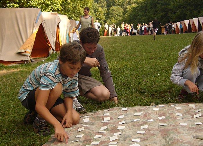 tábořiště Lubina ... 7.8.2009 ... foto: Blanka