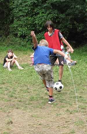 stolní football ... 12.8.2009 ... foto: Jiří Miškar